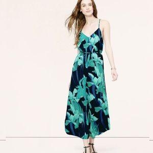 NWOT Loft Night Lily Maxi Dress